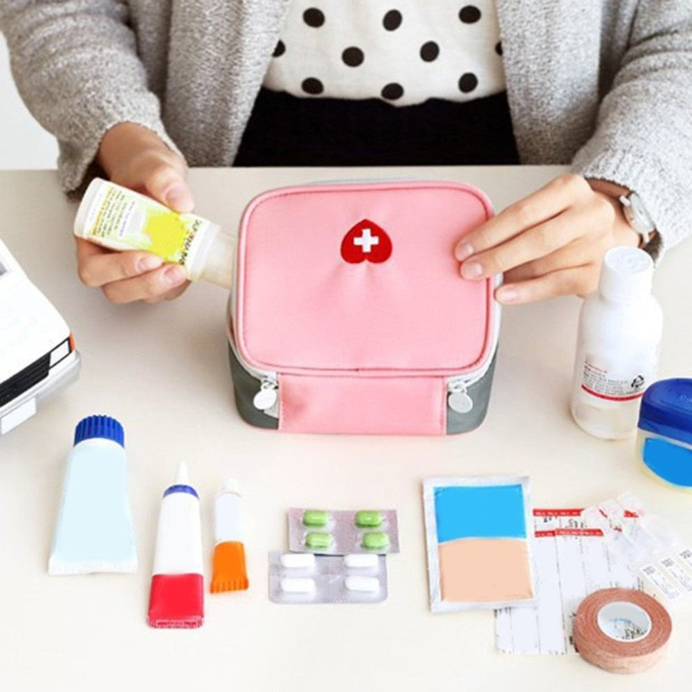 Travel Portable Medicine Package Emergency Kit