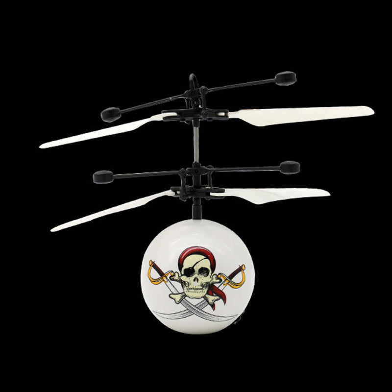 Infrared Induction Drone Flying Flash LED Lighting Ball Helicopter Child Kid Toy