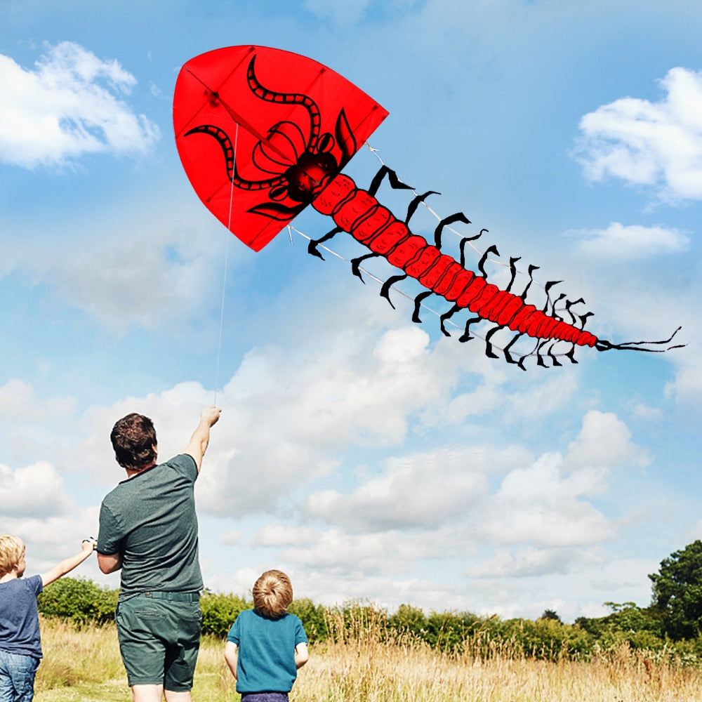 7M Giant Centipede Kite Single Line Flying Kite
