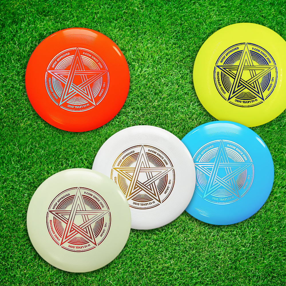 9.8 Inch 145g Plastic Flying Discs Outdoor Play Toy