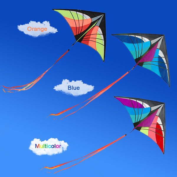 160 x 90cm / 63 x 35.5in Large Delta Kite