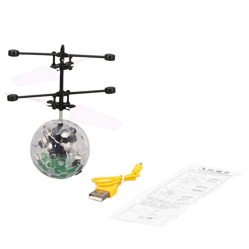 Luminous Toy Ball Flying Rc Helicopter Flying Balls