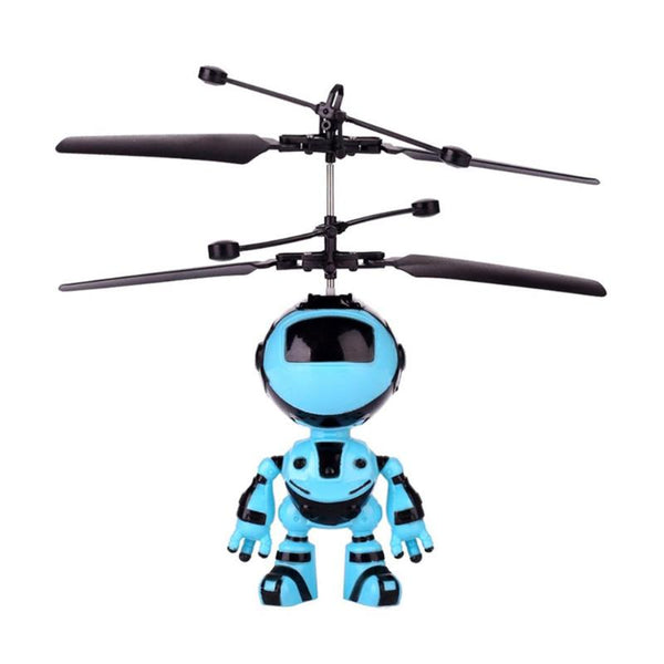 Flying Robot Aircraft Recharging Infrared Induction Antistress Toy