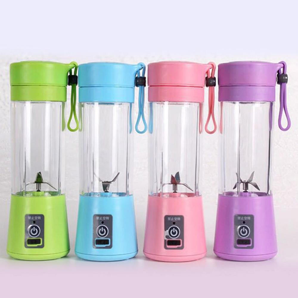 Portable Electric Juicer Cup USB Rechargeable Automatic Vegetables Fruit Juicer