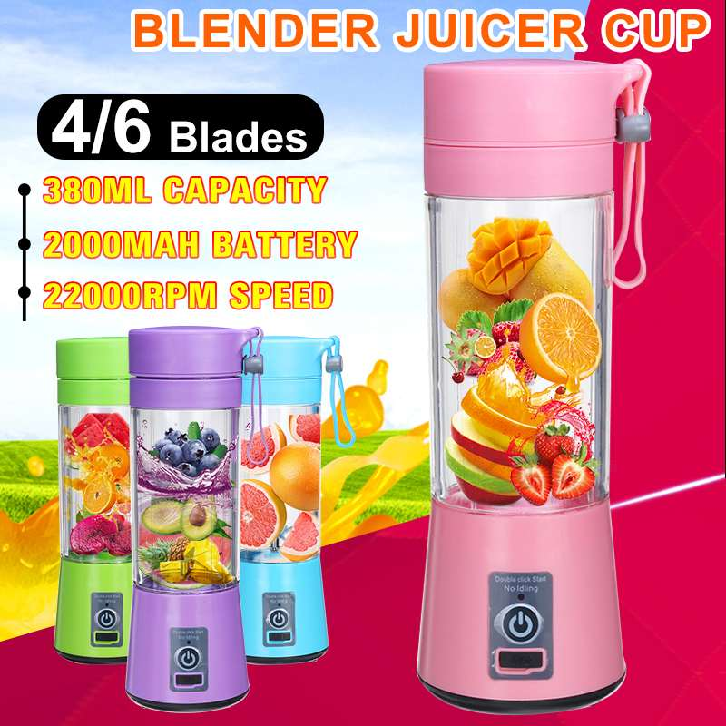 Portable Electric Juicer Blenders Blenders