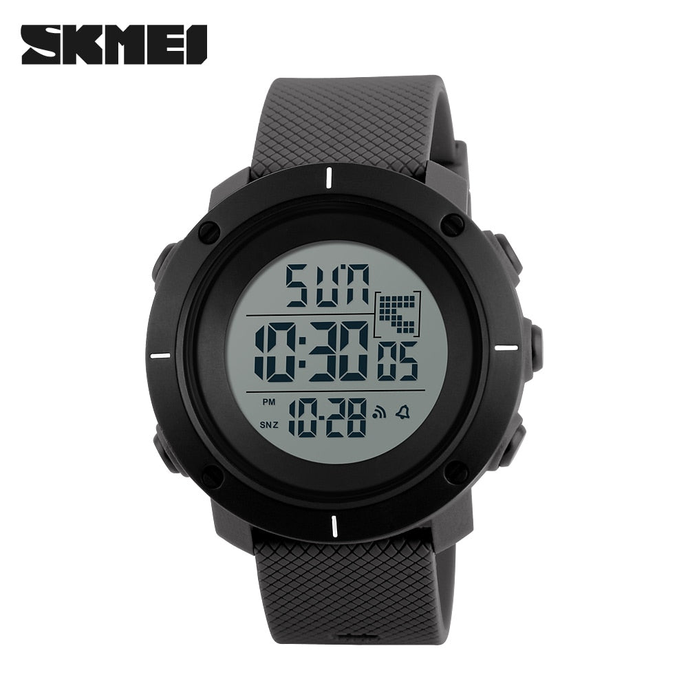 Women Waterproof Digital LED Military Watch