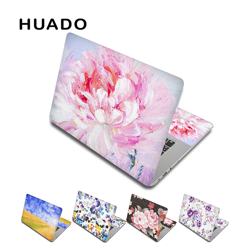 Flower Laptop skin decal notebook sticker 13 15 15.6 inch laptop skin