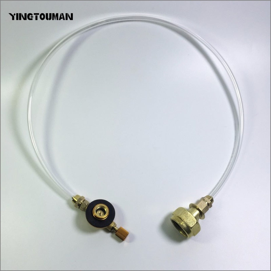 YINGTOUMAN Outdoor Gas Stove Camping Stove Propane Refill Adapter Burner