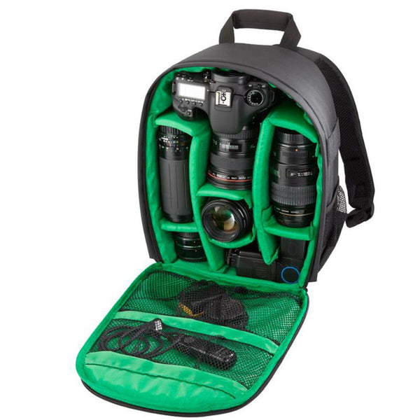 Waterproof DSLR Digital Camera Outdoor Backpack Camera Bag for Nikon Sony Camera  Small Compact Camera