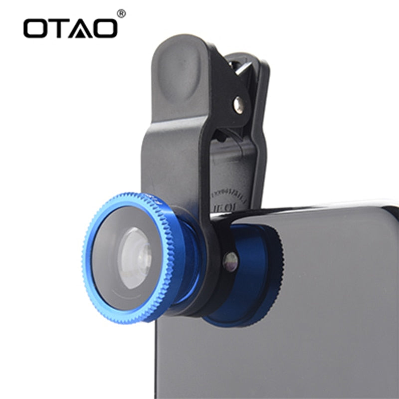 Original 3-in-1 Wide Angle Macro Fisheye Lens