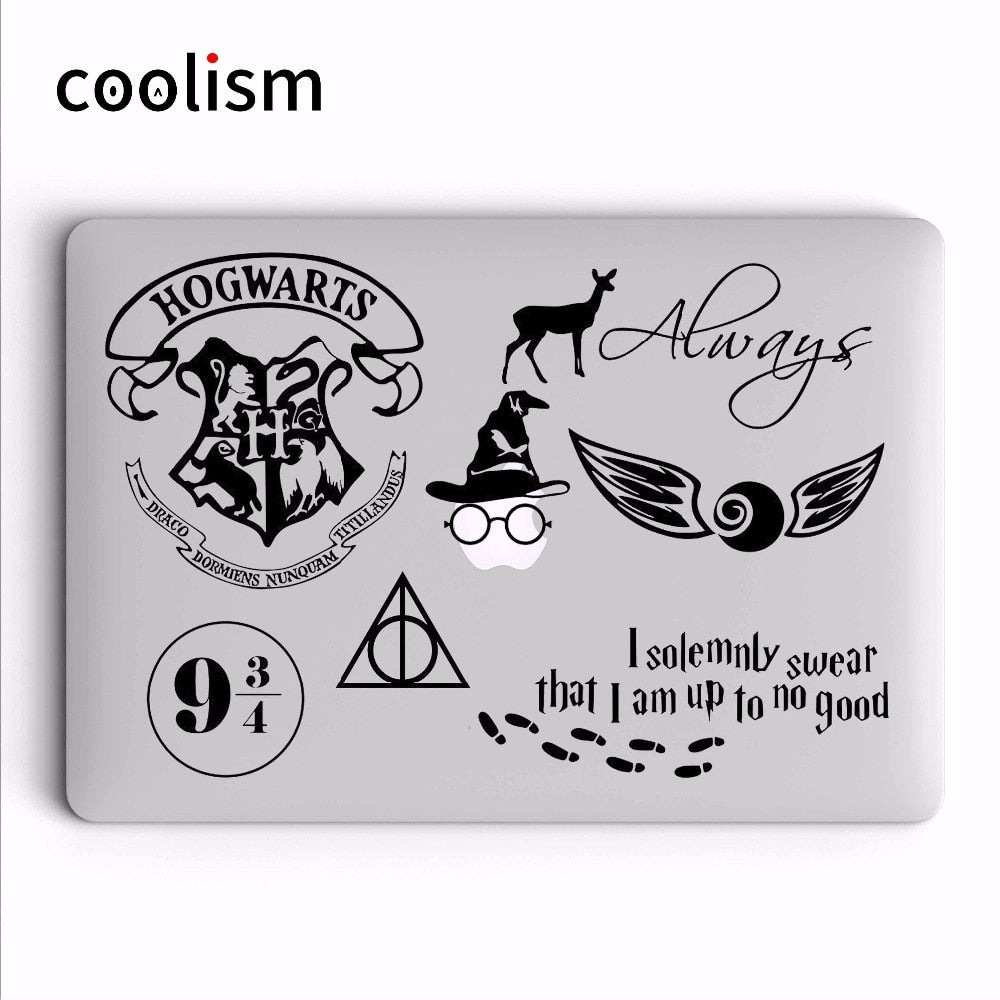 Harry Potter Theme Laptop Sticker