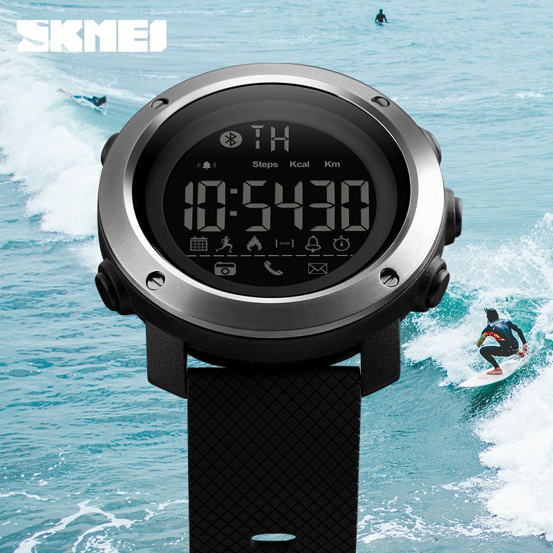 Waterproof Electronic Digital Sports Watches B