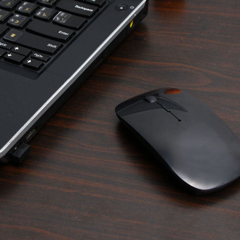 2.4G USB Optical Wireless Computer Mouse 1600 DPI Ultra Slim Mouses For PC Laptop Desktop 8 SL@88