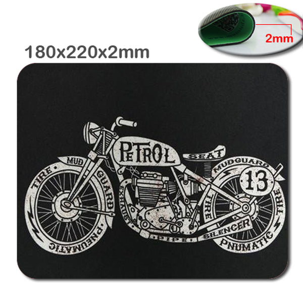 Motorcycle mouse pad