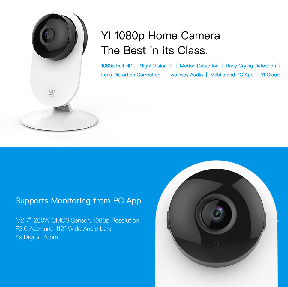 7a8b6d246 Home Camera Indoor Security Wireless IP Cam Surveillance System ...