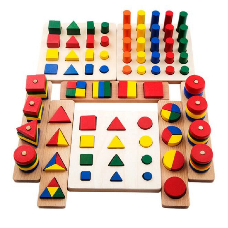 Cylinder Educational Blocks Toys