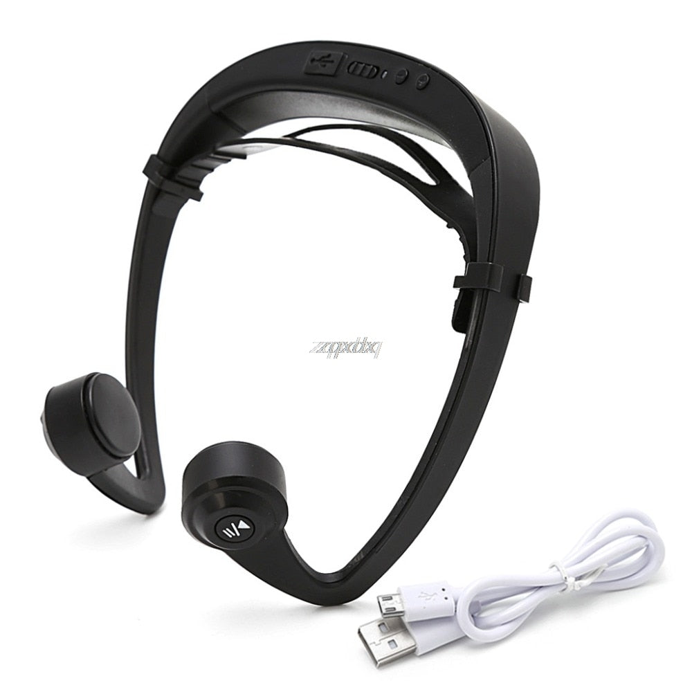 V9 Ear Hook Bone Conduction Bluetooth 4.2 Sports Headphone