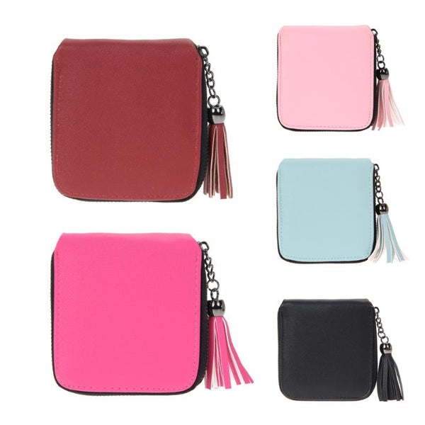 PU Leather Tassel Female Wallet