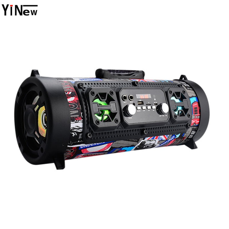 Hifi Portable Bluetooth Speaker FM Radio Move KTV 3D Sound Unit