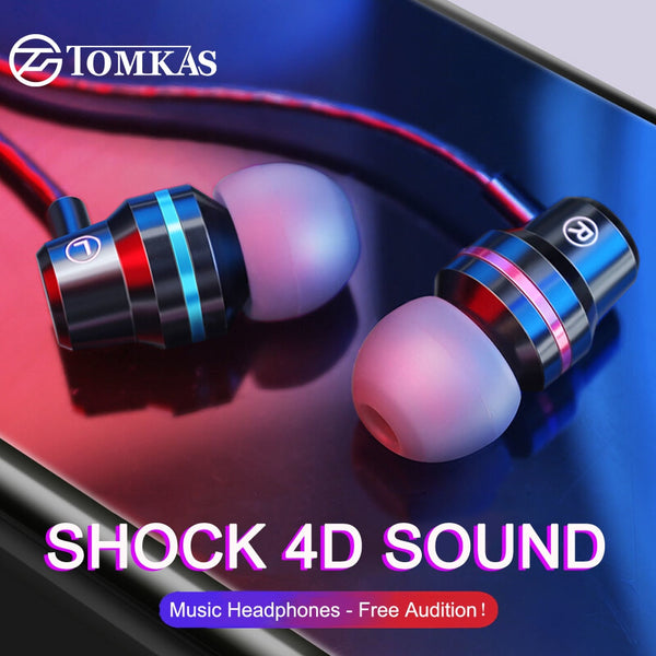 TOMKAS In-Ear Earphones