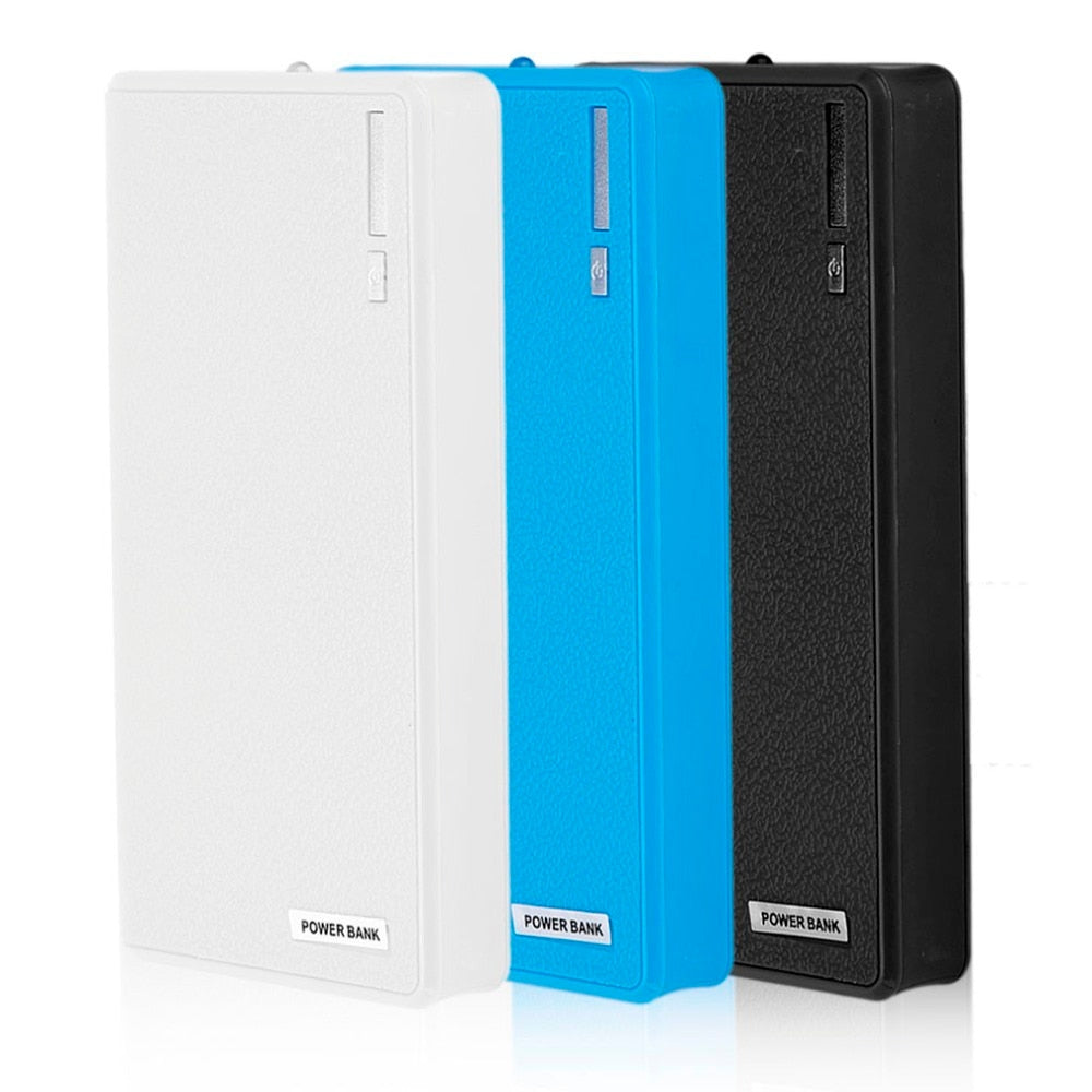 Dual-usb Power bank battery case