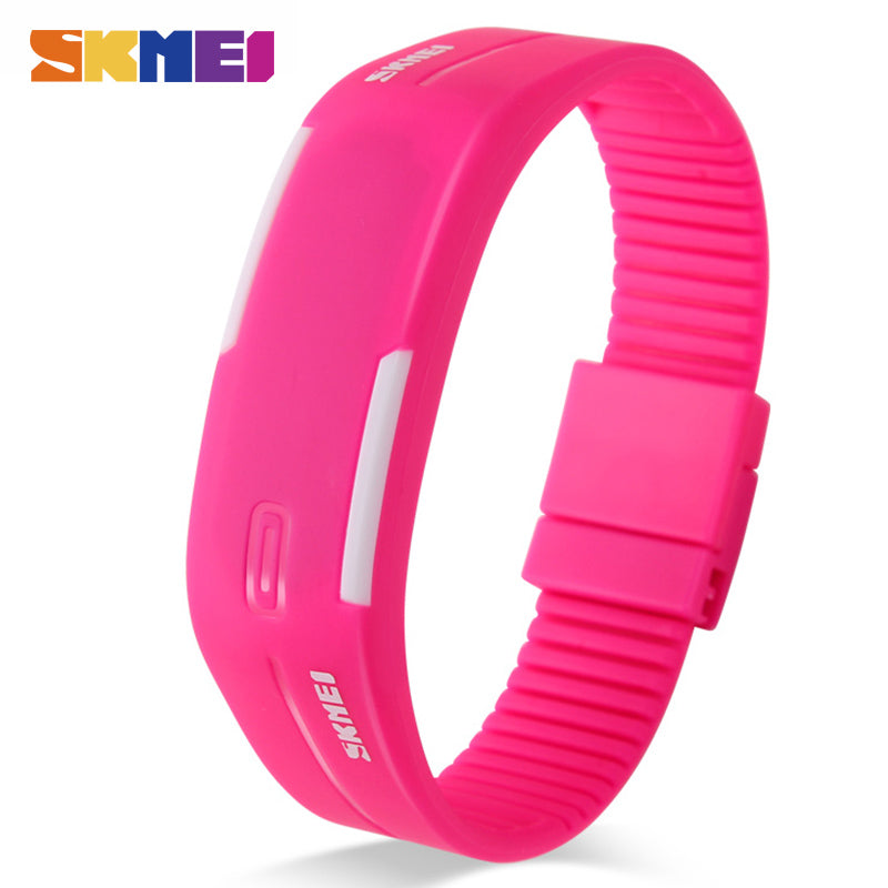 Women Running Digital Watch