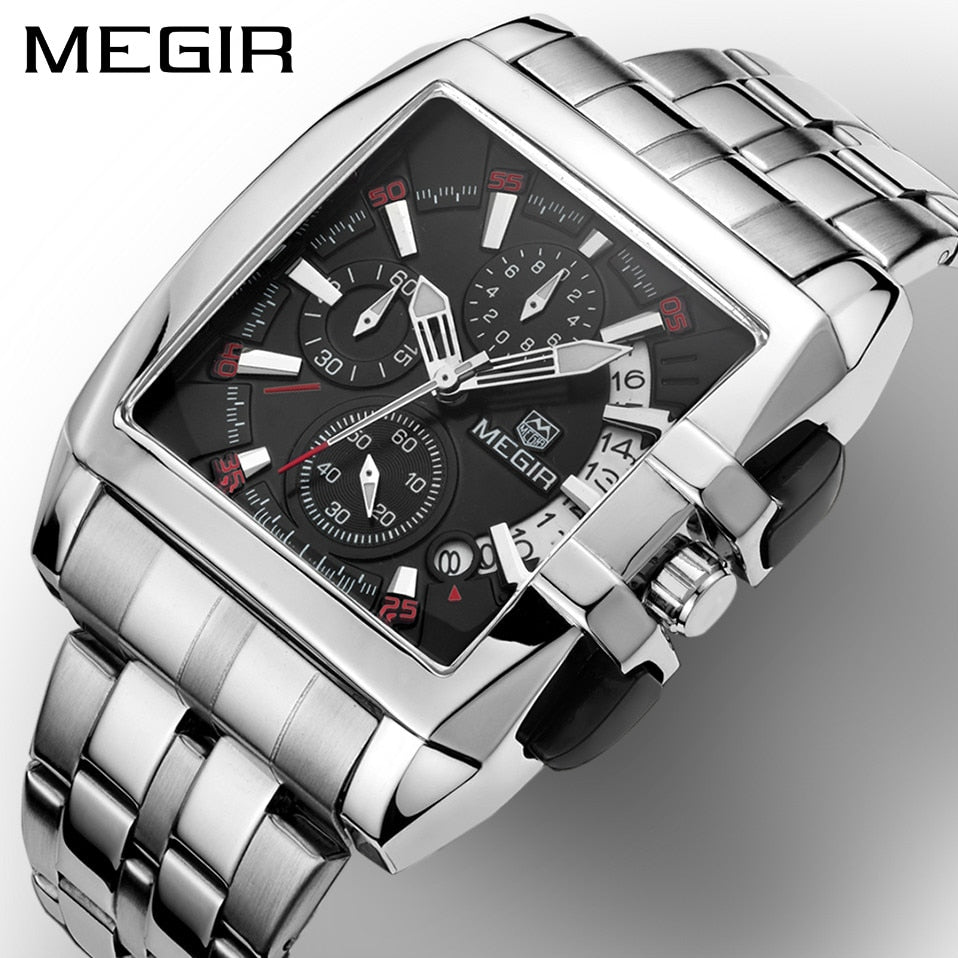 Full Stainless steel Sports Watch