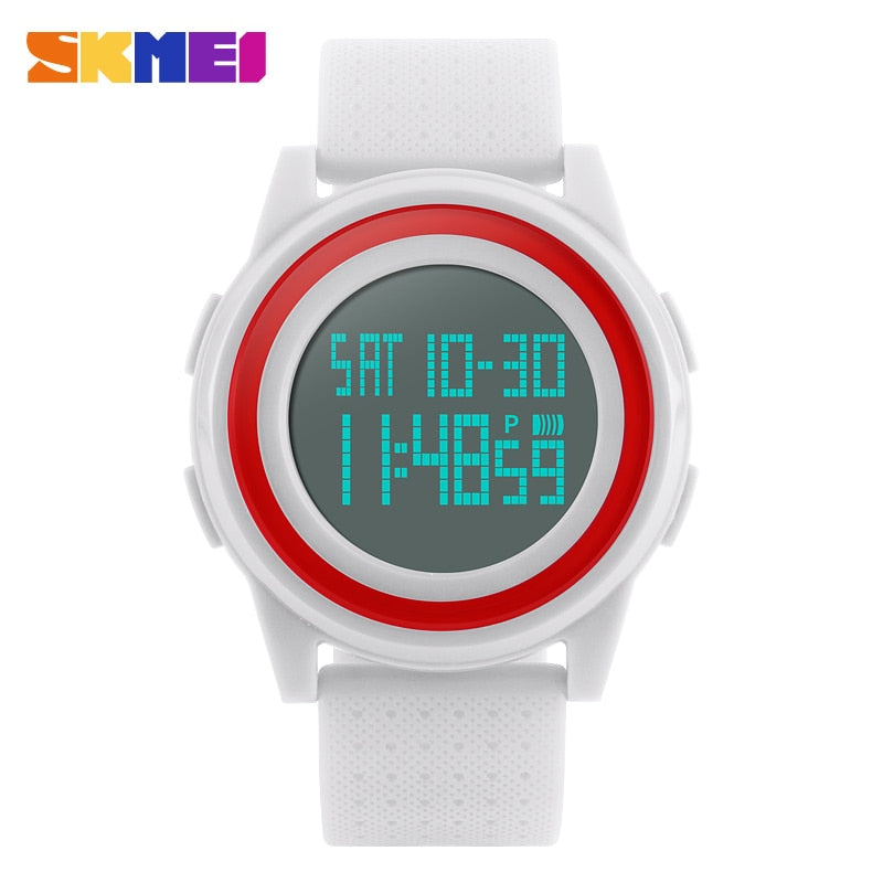 Women Sports Watches SKMEI Brand Casual Digital Watch
