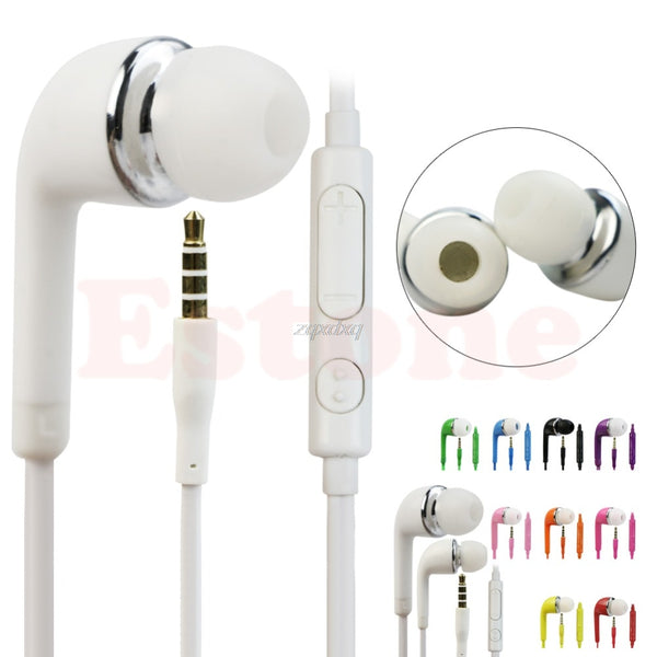Newest 3.5mm In-Ear Earphones for Samsung PC iPhone Universal Cellphones Hot Nov09 Drop Ship