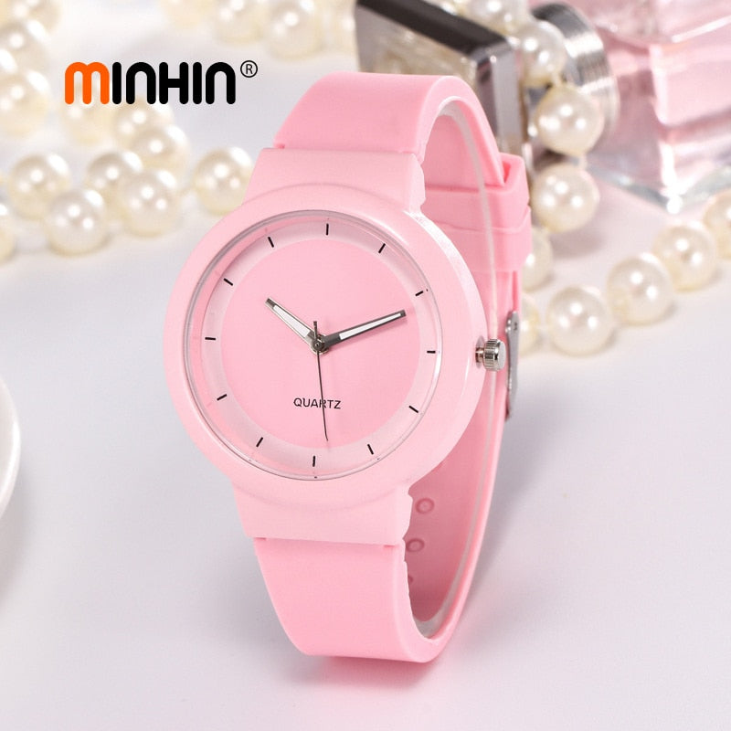 Fashion Candy Colors Sports Watch