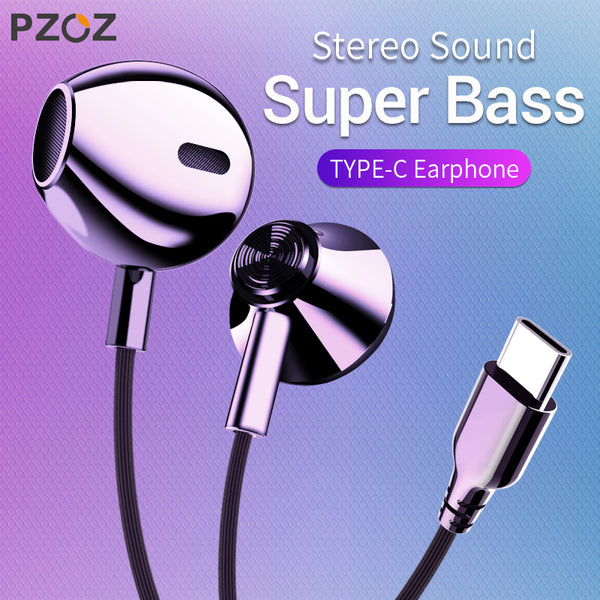 PZOZ USB C Earphone