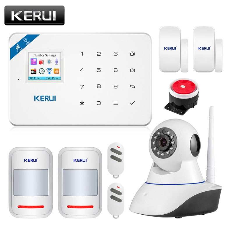 نظام إنذار KERUI W18 Wireless WiFi GSM