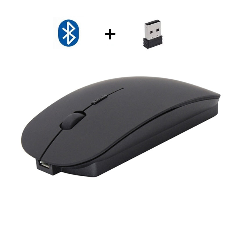 Cliry Bluetooth Wireless 4.0 + 2.4G Dual Mode 2 in 1 Charging Mouse