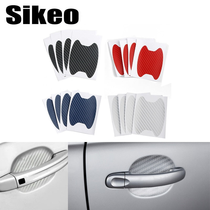 4Pcs/Set Car Door Sticker Scratches Resistant Cover Body Decoration