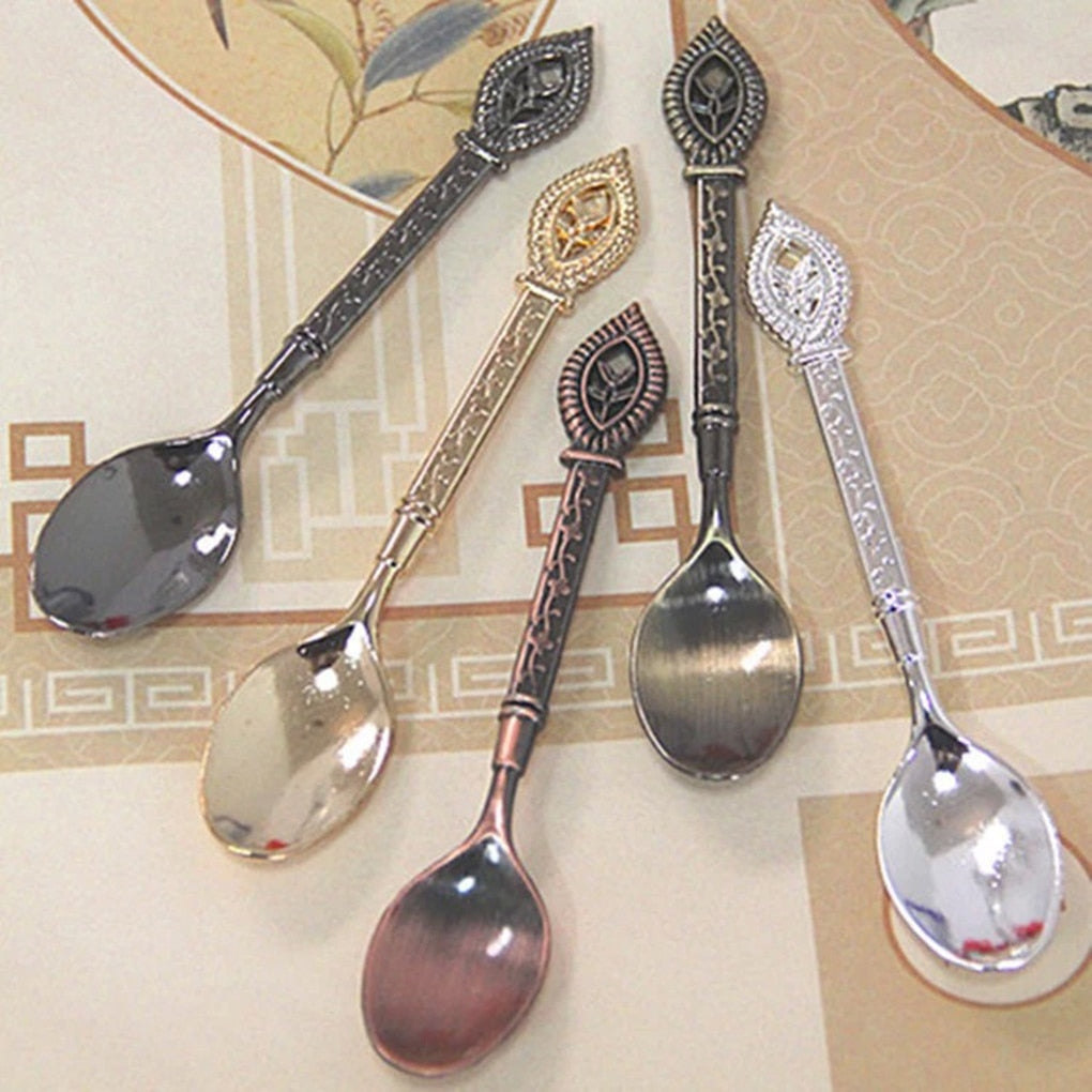 Hot Bronze design Coffee Tea Spoon