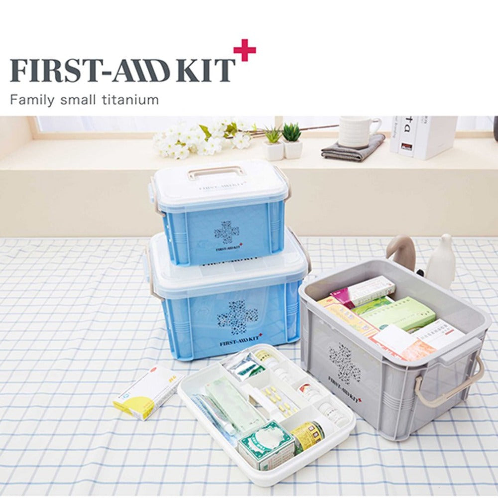 Plastic Container Emergency Kit
