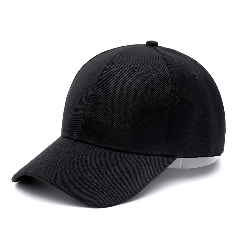 High Quality 8 Colors Unisex Casual Solid Adjustable Baseball Caps