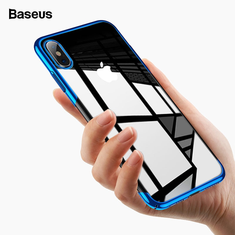 Baseus Clear Transparent Case For iPhone