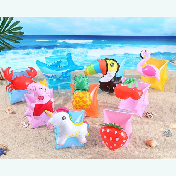 YUYU Swimming Arm Ring unicorn Flamingo Inflatable Pool float