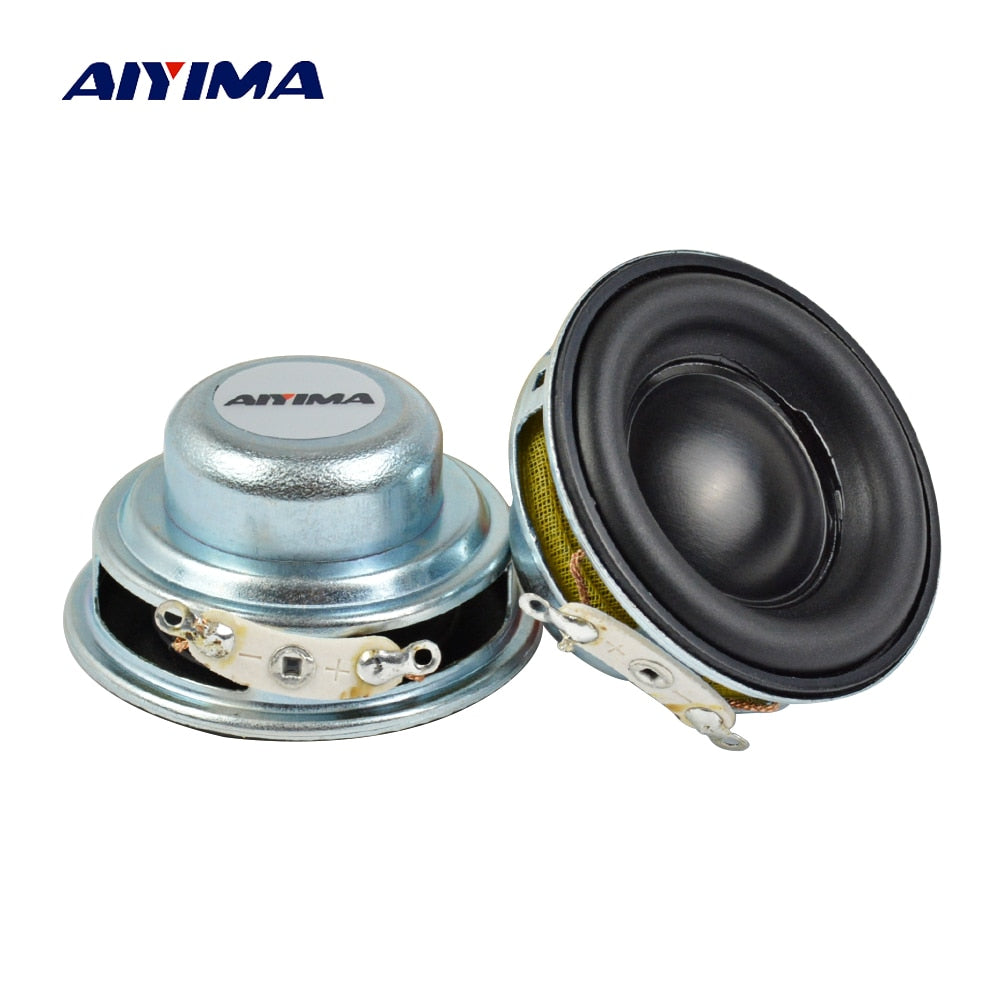 AIYIMA 2pcs 40MM Mini Audio Portable Speakers