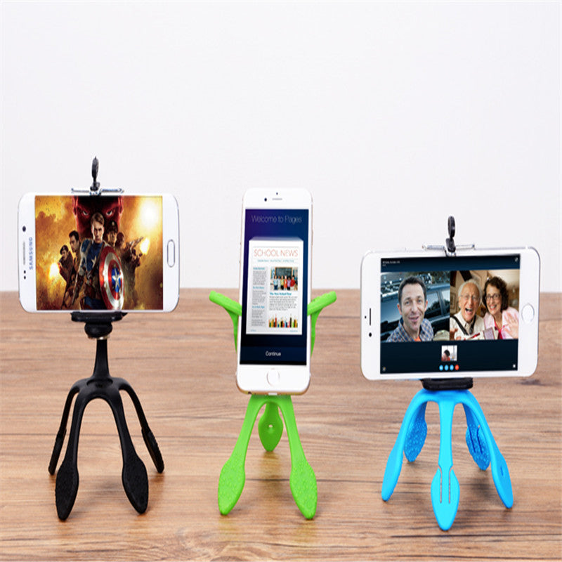 Mini Tripod Mount Portable Flexible Stand Holder Multi function phone camera