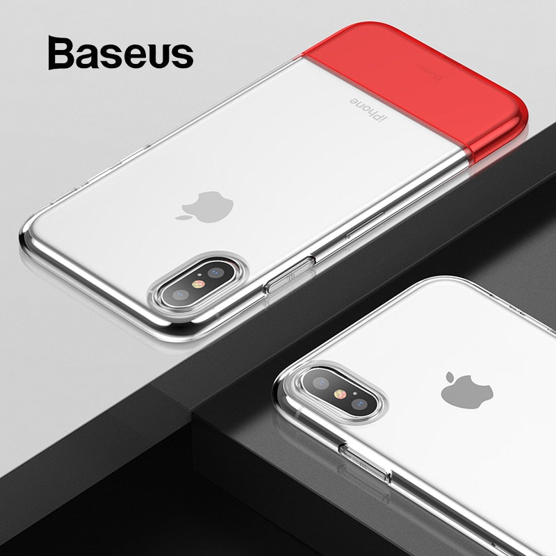 Baseus PC + TPU Hybrid Case For iPhone