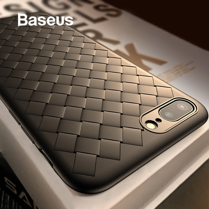 Baseus Luxury Soft Silicone Case For iPhone