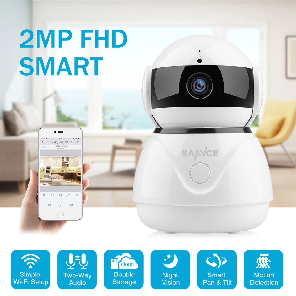 SANNCE 1080P Wireless Wifi IP Camera