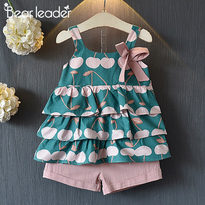 رومبرز Kids Out Sunsuit Outfits ملابس أطفال زهري Sunsuit Summer Cotton Clothes