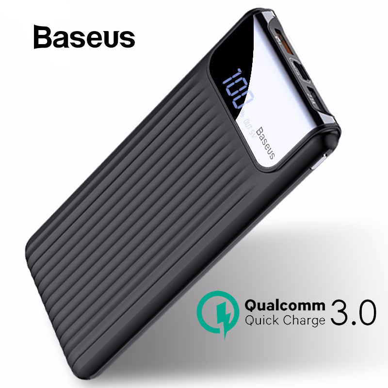 Baseus 10000mAh Quick Charge 3.0 USB Power Bank