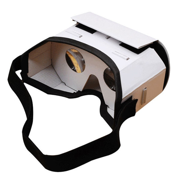 2018 Light Castle Card Style Virtual Reality VR BOX II Glasses