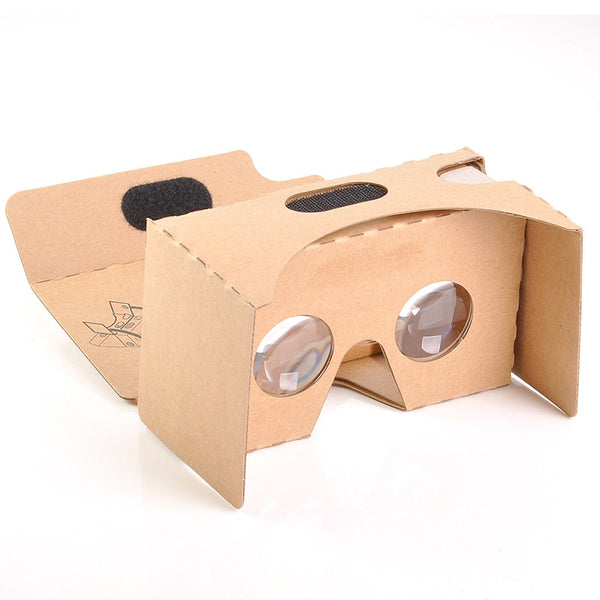 3D Glasses Light Castle Card Style Virtual Reality VR BOX II Glasses