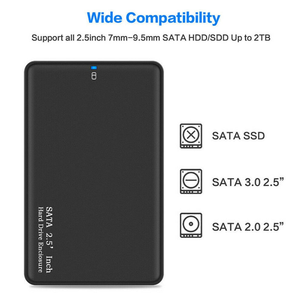 External Hard Drive Disk Storage Devices 2.5'' USB3.0