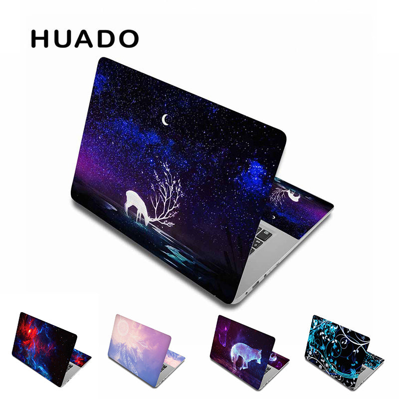 "Laptop stickers for 15inch notebook sticker 14""12""17""15.6"" PC skin for xiaomi mi pro 13.3/asus/macbook air 13/acer/hp/lenovo"